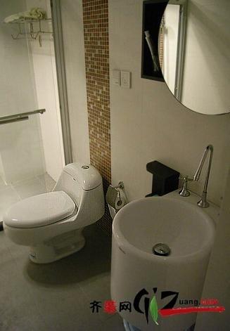 泉州卫生间装修效果图装修设计案例