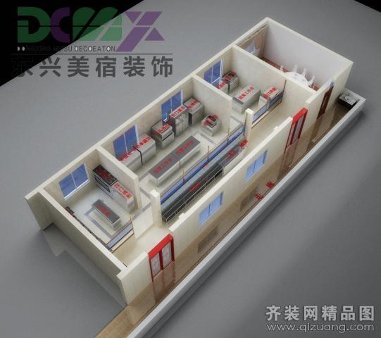 商河银联商务厨房装修设计案例