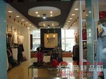 三门服装店面装修装修设计案例