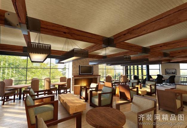 三门餐厅装修装修设计案例