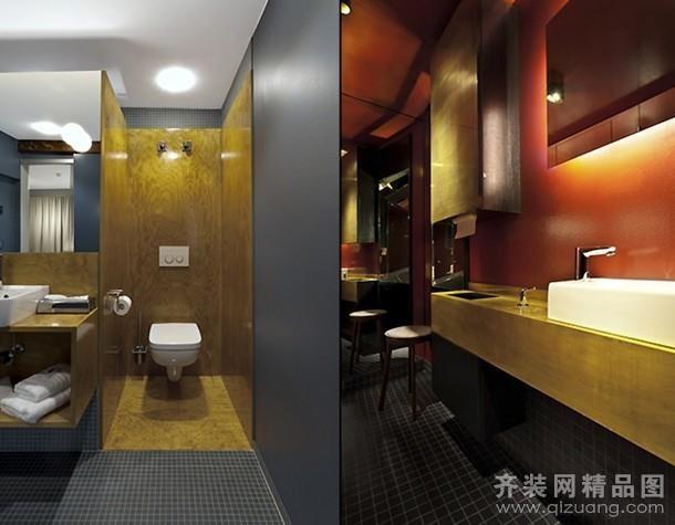 无锡酒店卫生间装修设计案例