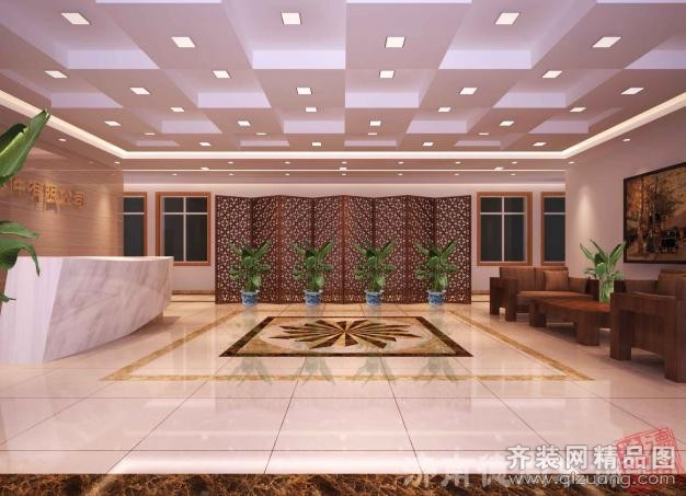商河办公室装修设计案例