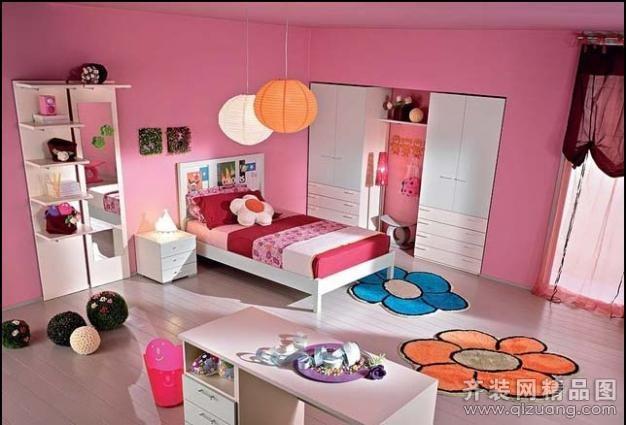 宝应儿童房装修设计案例