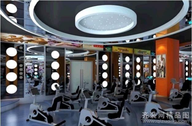 海盐健身房装修设计案例