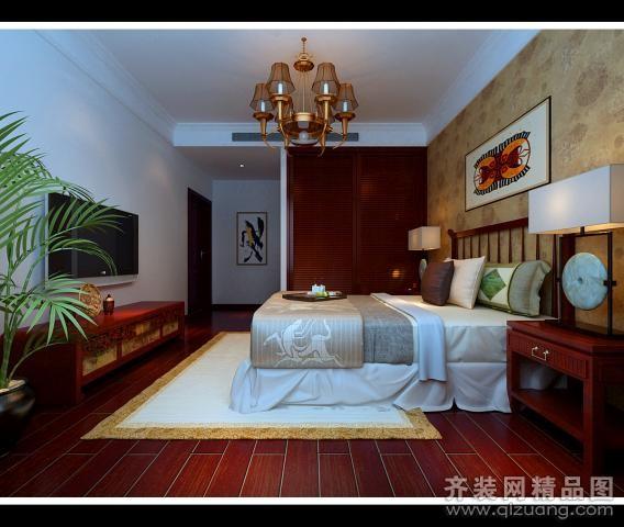 商河奥龙官邸卧室装修设计案例