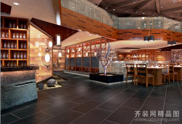 酉阳餐厅装修设计案例