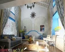 【美的家装饰】地中海蓝白调