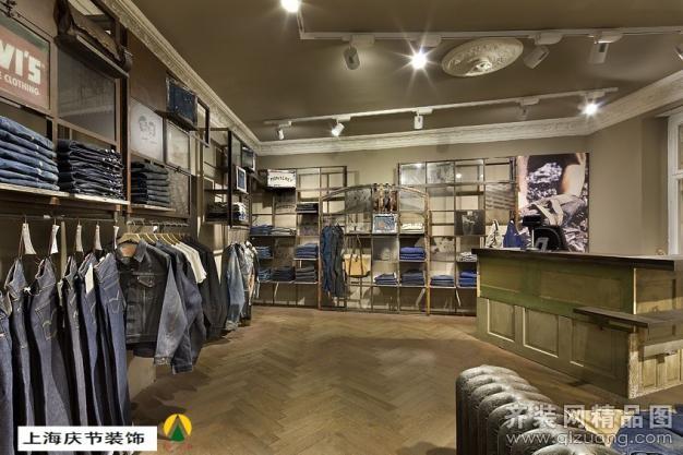 海盐牛仔服装店设计装修设计案例