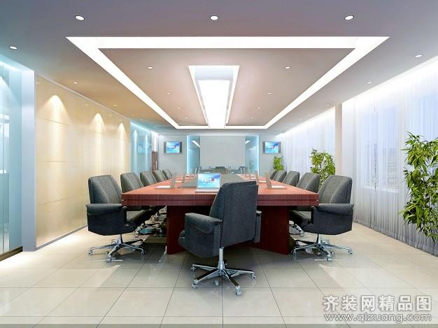 文成会议室装修设计案例