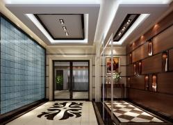 现代简约-塘下恒雄电器公司电梯走廊