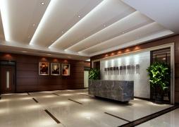 现代简约-塘下恒雄电器公司办公室大厅