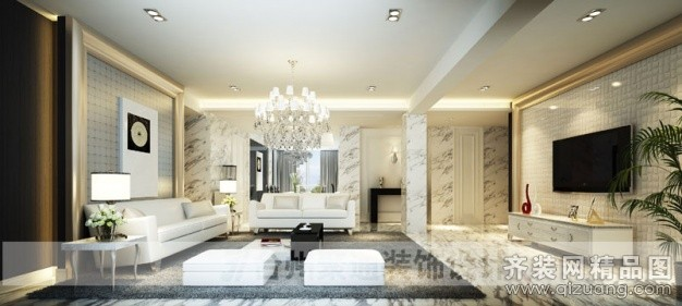 三门客厅装修设计案例