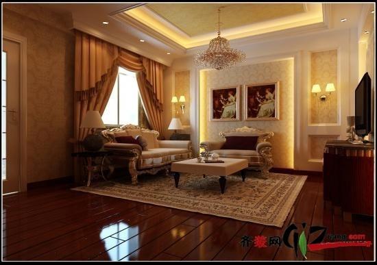 300平米別墅現代簡約家裝裝修圖片設計-無錫齊裝網