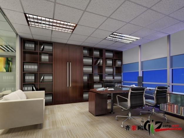 無錫工裝效果圖之律師事務所辦公室裝修