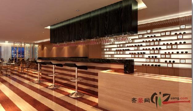 紅酒商鋪現代簡約裝修效果圖實景圖