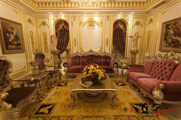 苏州欧式古典风格400平米别墅古典风格家装装修图片
