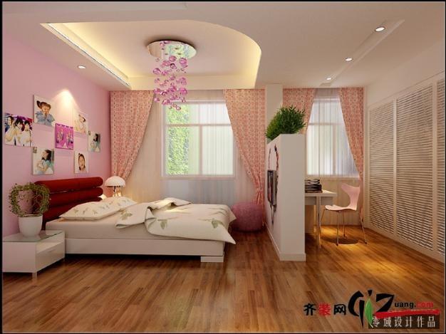 136平米复式户型现代简约家装装修图片设计-台州齐装