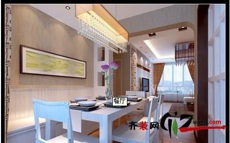 悦澜湾现代简约装修效果图实景图