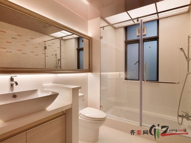 400平米别墅现代简约家装装修图片设计-中山齐装网