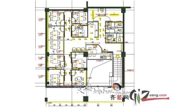 日式室內裝修平面圖