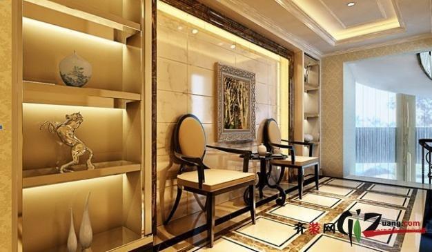 420平米别墅欧式风格家装装修图片设计-武汉齐装网