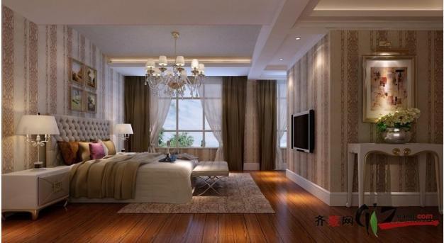 240平米别墅欧式风格家装装修图片设计-盐城齐装网