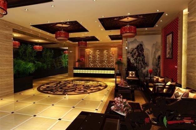 清风阁中式餐厅图集 发布时间:2012-08-30 10:28:47