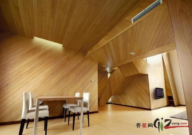 木质简约田园风格装修效果图实景图