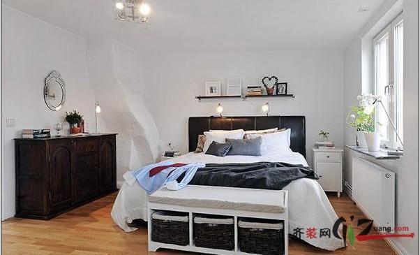 114平米北欧风情公寓欧式风格装修效果图实景图