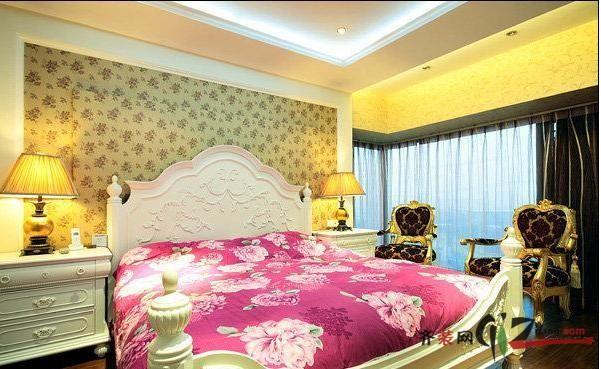 125平方欧式金粉饰家欧式风格装修效果图实景图