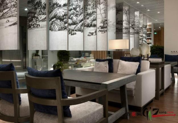 咖啡店 鼓楼区 中山北路现代简约装修效果图实景图