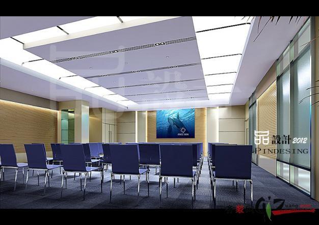 生物研究所-视听室现代简约装修效果图实景图