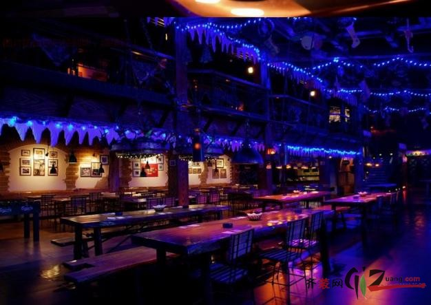 酒吧装修美式风格装修效果图实景图