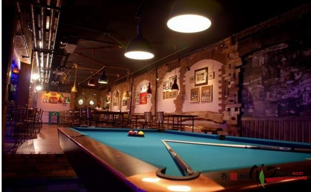 苏州酒吧装修500平米普通户型美式风格家装装修图片