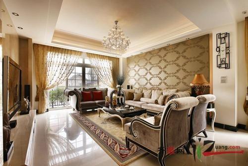 320平米别墅现代简约家装装修图片设计-无锡齐装网