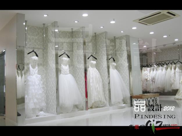 婚纱摄影中心欧式风格装修效果图实景图