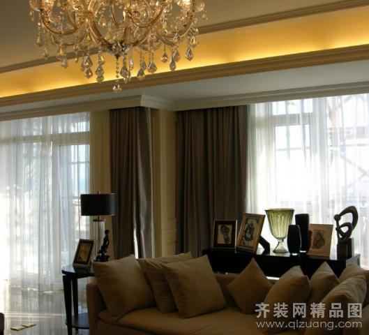 太阳城中式风格装修效果图实景图
