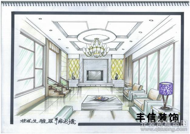 130平米别墅欧式风格家装装修图片设计-武汉齐装网