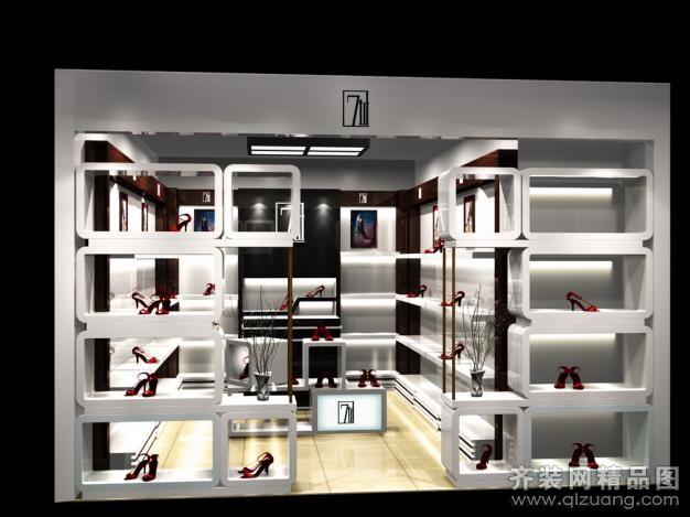 40平方鞋店设计图