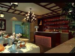 木渎饭中式风格店实景图