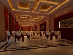 木渎酒店现代中式风格效果图