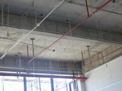 昆山巴城特雷斯塔服饰在建工地实景图