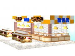某超市 面包专柜