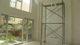 别墅装修之在建工地