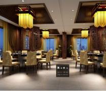 甪直酒店现代中式风格实景图