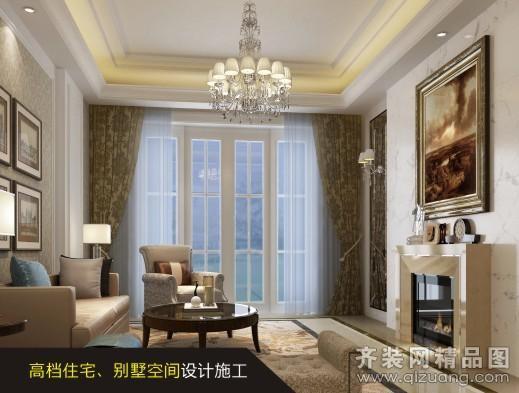 288平米别墅欧式风格家装装修图片设计-郑州齐装网