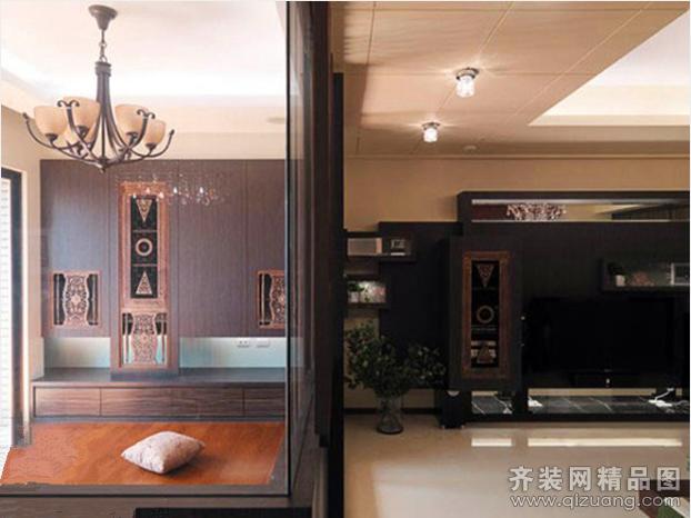 景悦星湖现代简约装修效果图实景图