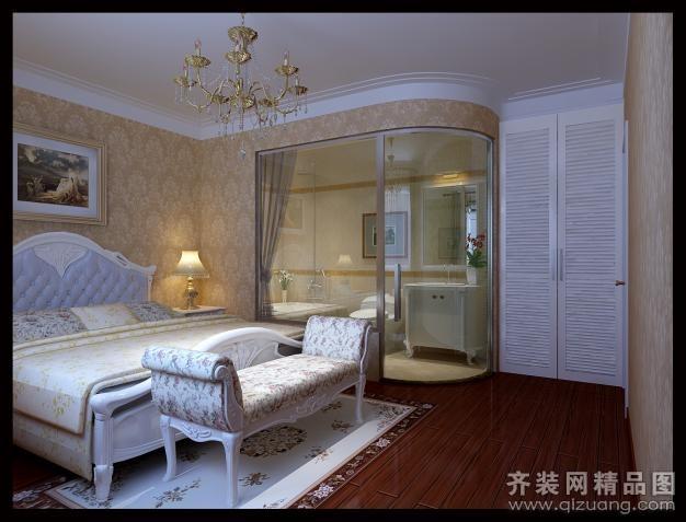 79平米普通户型欧式风格家装装修图片设计-宿迁齐装