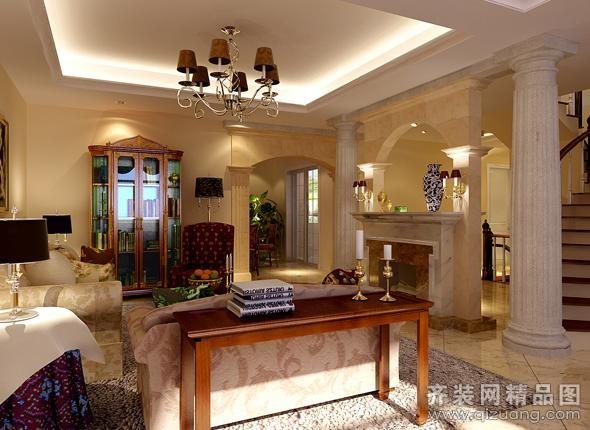 450平米别墅欧式风格家装装修图片设计-珠海齐装网