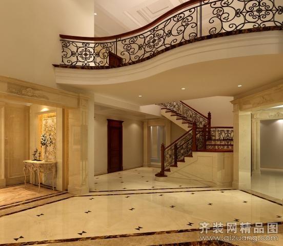 160平米躍層戶型歐式風格家裝裝修圖片設計-昆山齊裝